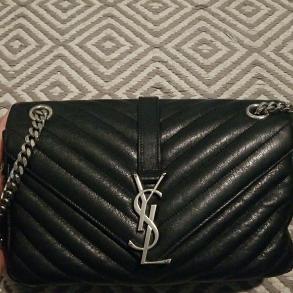 9bb97c85e2 Ysl monogram medium punk chain bag